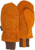 Asstd National Brand QuietWear Insulated Split Leather Cuff Mittens