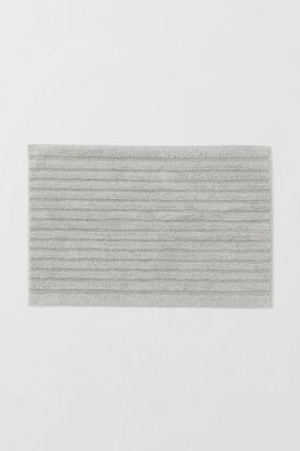 H&M Cotton Bath Mat - Gray