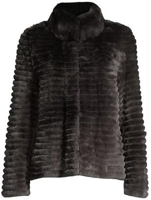 Glamour Puss Rabbit Fur Jacket
