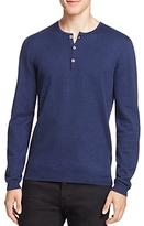 John Varvatos Cashmere Blend Henley Sweater - 100% Exclusive