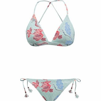Barts Women's Jones Fixed Triangle Two Piece Bikini