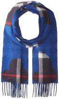 Burberry Rain Check Reversible Cashmere Scarf Scarves