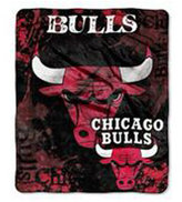 Northwest Company Chicago Bulls 50x60in Plush Throw Drop Down