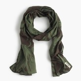 J.Crew The Hill-side® lightweight scarf in palm leaves print
