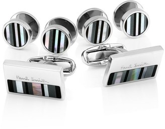 Paul Smith 4-Piece Stud & Cuff Link Set