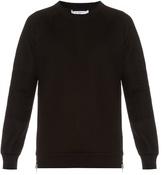 Givenchy Cuban-fit zip-back neoprene sweatshirt