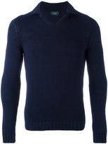Zanone slim-fit jumper - men - Cotton - 56