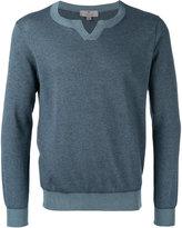 Canali round neck sweater - men - Cotton - 48