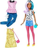 Barbie Fashionistas Doll 42 Blue Violet Doll & Fashions