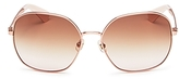Kate Spade Carlisa Oversized Square Sunglasses, 59mm