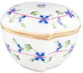 Herend Blue Garland Porcelain Box
