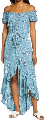 Tiare Hawaii Riviera Cover-Up Maxi Dress