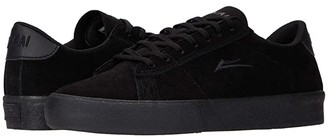 Lakai Newport (Black/Black Suede) Men's Skate Shoes