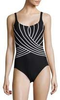Gottex One-Piece Printed Swimsuit