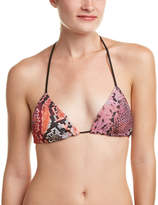 Hale Bob Printed Faina Triangle Bikini Top