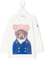 Moncler bear print top