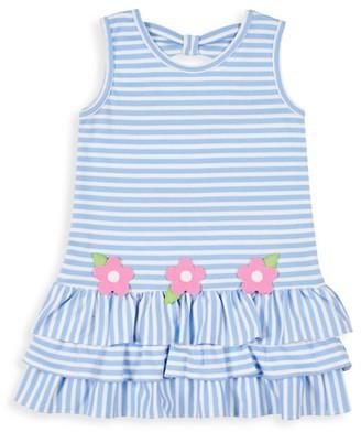 Florence Eiseman Little Girl's Striped Peplum Dress