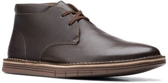 Clarks Forge Stride Leather Chukka Boot