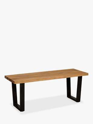 John Lewis & Partners Calia 2-Seater Dining Bench