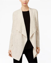 Eileen Fisher Organic Cotton-Blend Waterfall Cardigan