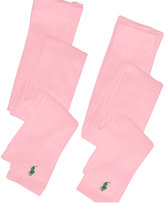 Ralph Lauren Girls' Footless Tights 2 Pack
