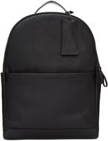 Marsèll Black Leather Fondone Backpack