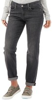 Levi's Womens 714 Straight Fit Distressed Jeans Monday Morning