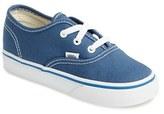 Vans Toddler 'Authentic' Sneaker