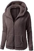Sunward Womens Winter Full Zip Up Hooded Sweatshirt Hoodie Jacket Coat