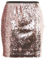 Topshop Dazzling sequin embellished mini skirt