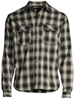 The Kooples Long-Sleeve Plaid Shirt