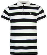 Soviet Stripe Polo Shirt Mens