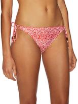 Shoshanna String Printed Bikini Bottom