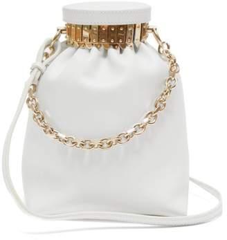 Altuzarra Ice Leather Cross-body Bag - Womens - White