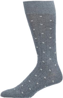 Neiman Marcus Men's Square-Dot Socks
