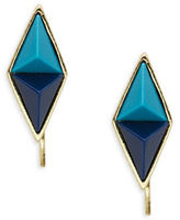 House Of Harlow Pyramid Ear Crawler Earrings