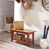 Asstd National Brand Shaker Tray Shelf Coat Hook with Bench Set