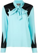Fausto Puglisi contrasting inserts shirt