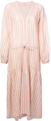 Lemlem Nefasi striped tiered dress