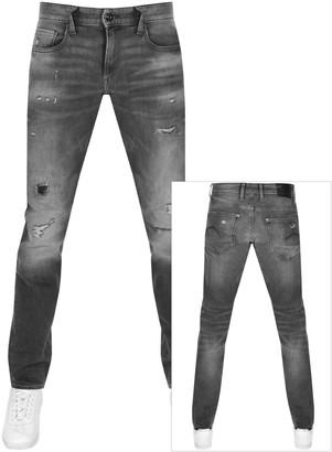 G Star Raw Revend Skinny Jeans Grey