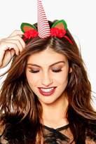 Boohoo Saskia Novelty Christmas Unicorn Headband