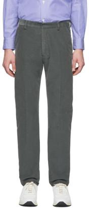 Ami Alexandre Mattiussi Grey Corduroy Trousers
