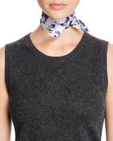 Kate Spade Hydrangea Silk Skinny Scarf