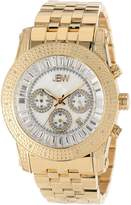 "JBW Men's JB-6219-F ""Krypton"" Gold Chronograph Diamond Watch"