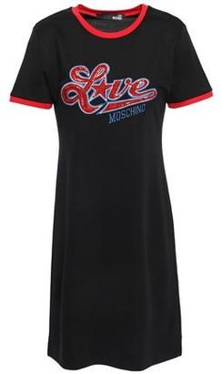 Love Moschino Embellished Stretch-jersey Mini Dress