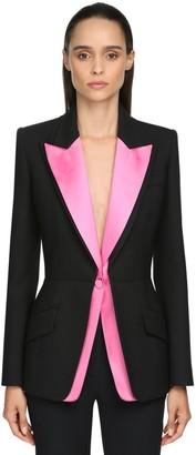 Alexander McQueen Multi-colored Silk & Satin Jacket