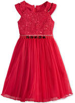 Bonnie Jean Sequin & Lace Dress, Little Girls (4-6X)