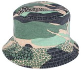 Circo Toddler Boys' Camo Bucket Hat Green