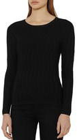 Reiss Suki Textured Top