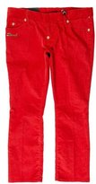 DSQUARED2 Corduroy Straight-Leg Pants w/ Tags